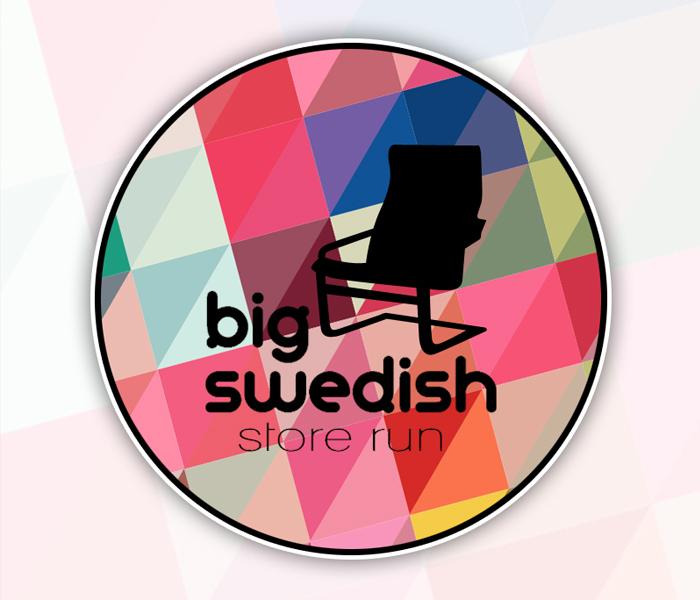 Big Swedish Store Run logo